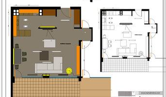 Interior design apartment by Mario Dimitrov