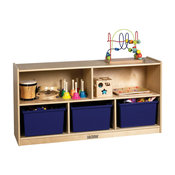 Ecr4Kids Birch 24 Storage Cabinet, 5 Compartments
