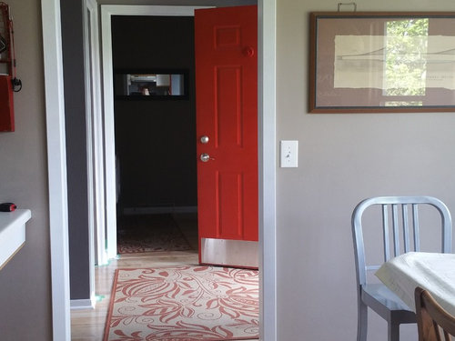 Paint Inside Of Front Door Red Or White