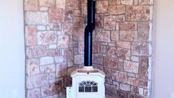 Bio Foam Insulation, Fireplaces