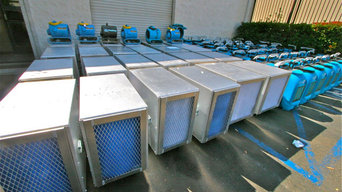 HEPA air scrubber rentals, airscrubbers, call 800-606-8007