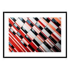 """Mo-Za"" Framed Digital Print by Gilbert Claes, 44x32"""
