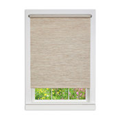 """Cords Free Privacy Jute Shade, Natural, 48""""x72"""""""