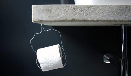 Stylish oder sinnlos? Inszeniertes Toilettenpapier
