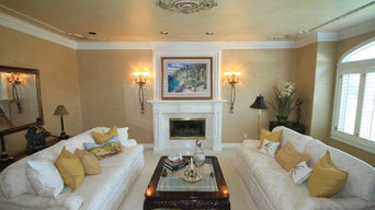 Beautiful Family Room And Living Room