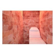 """Himalayan Salt Sauna 8'x4' Surface Area, 32 sq. ft., 8""""x8""""x2"""" Tiles"""