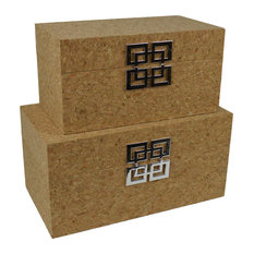 Cork Jewelry Box Set