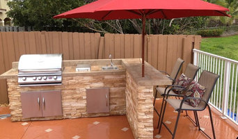 outdoor Kitchen Stone