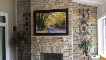 Stone Fireplace Face