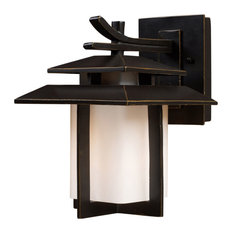 Kanso 1-Light Small Outdoor Sconce, Hazelnut Bronze