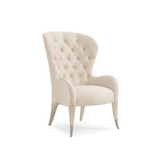 Inside Story Tufted Wingback Chair