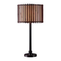 Kenroy Home 32279BRZ Bora 1 Light Outdoor Table Lamp - Bronze