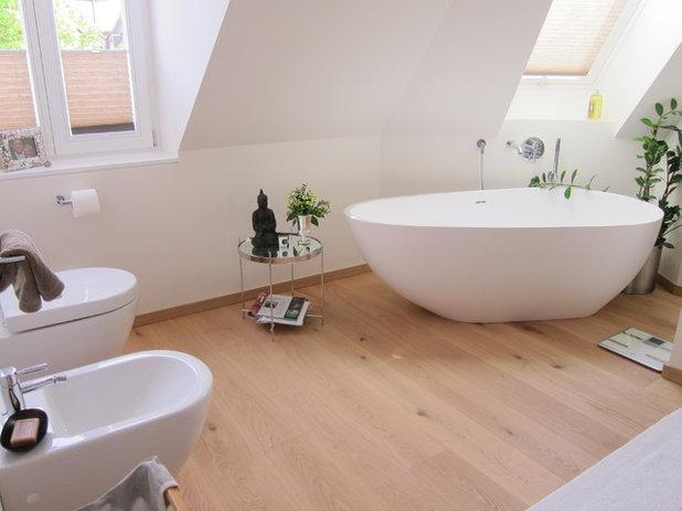 platzbedarf f r eine freistehende badewanne experten geben tipps. Black Bedroom Furniture Sets. Home Design Ideas
