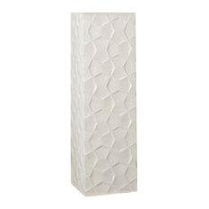 Limestone Bow Tie Pedestal