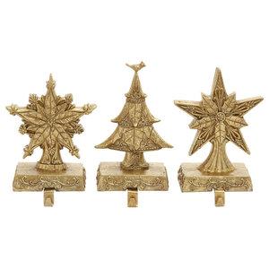 9fd7c581c Cast Iron Christmas Trees Stocking Holders
