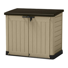keter - Store-It-Out MAX Outdoor Resin Horizontal Storage Shed - Sheds