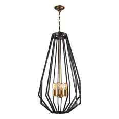 Fluxx Chandelier, Tall