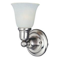 """Maxim 11086 Bel Air 6""""W Bath Light - Nickel"""