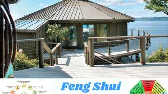 realizzazione casa secondo regole Feng Shui con spazio orto in Permacultura