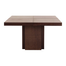 """Temahome - Dusk 59"""" Dining Table, Chocolate - Dining Tables"""
