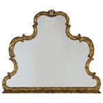 Hooker Furniture - Sanctuary Mirror - The Sanctuary Mirror knows a thing or two about good looks, fashioning bold curves and a stylishly distressed finish. Hang it someplace you trek frequently, like the bedroom, bathroom or entryway — you're going to want to gaze upon it as often as in it.