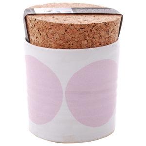 Spots Salt Jar, Pink