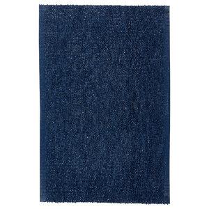 Spa Woven Floor Cloth, Blue, 75x120 cm