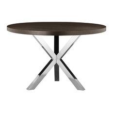 Collin Round Dining Table, Espresso