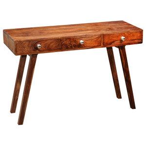 VidaXL Solid Sheesham Wood Sideboard Console Table/Cabinet, 76 cm