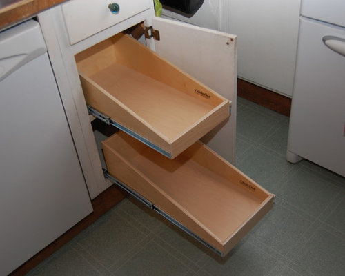 Base Cabinets and Other Creative Solutions