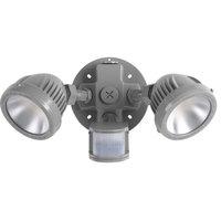2-Light Security/Flood Light With Motion Sensor