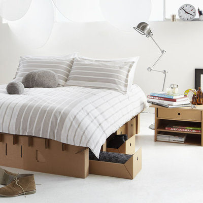 Cardboard Furniture Shows Flat Out Style