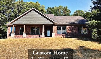 Custom Home in Waterloo IL