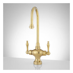 Signature Hardware 926646 Isadora 1.75 GPM 1 Hole Bar and Kitchen - Brass