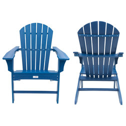 Beach Style Adirondack Chairs by LuXeo USA
