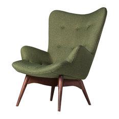 Contour Chair, Green