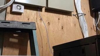 Holbrook alarm installation 32 zone hardwired/ wireless system
