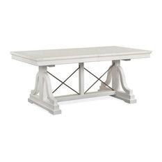 Magnussen Heron Cove Dining Trestle Table, Chalk White