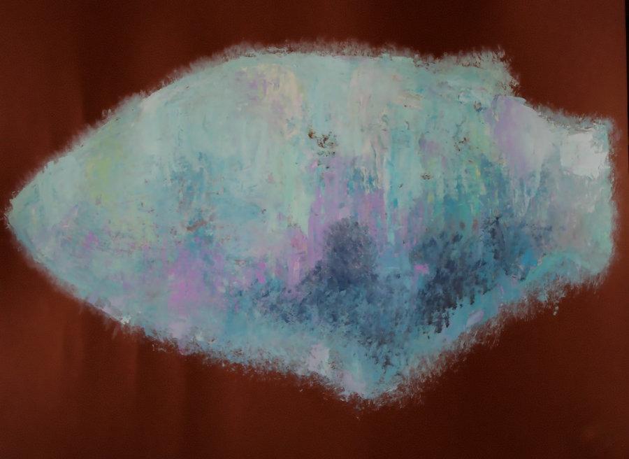 Картина. TANYA FIRN  Mint Fish / Мятная