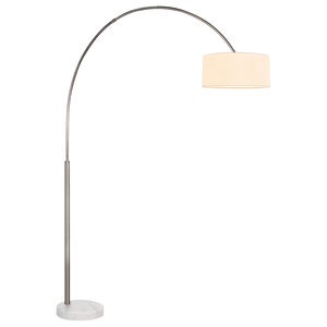 Major Q Modern Fishing Pole Arch Floor Lamp Marble Base Transitional Floor Lamps By Major Q