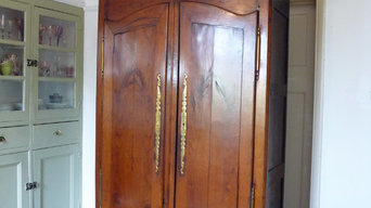 Authentic Antique Provincial French Armoire