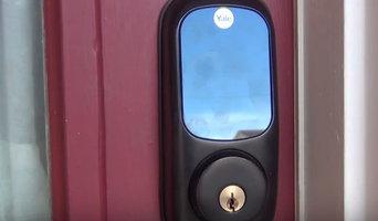 Install Touch Screen Door Lock
