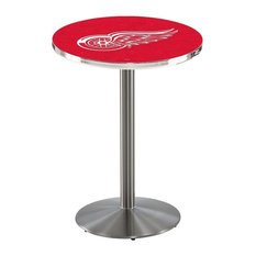 Detroit Red Wings Pub Table 28-inchx36-inch by Holland Bar Stool Company
