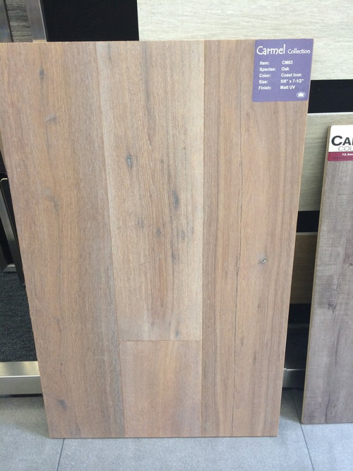 Light Grey Oak Wood Flooring For Wall Color