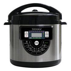 TMC-60XL 6 Quart 8-In-1 Multi-Function Pressure Cooker, Black