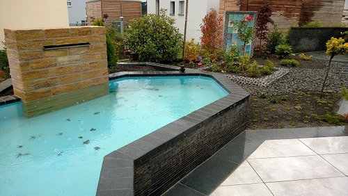 Pond, Pool, Waterfall, Teich, Pool, Wasserfall 15 Designs Wasserfall Swimming Pool
