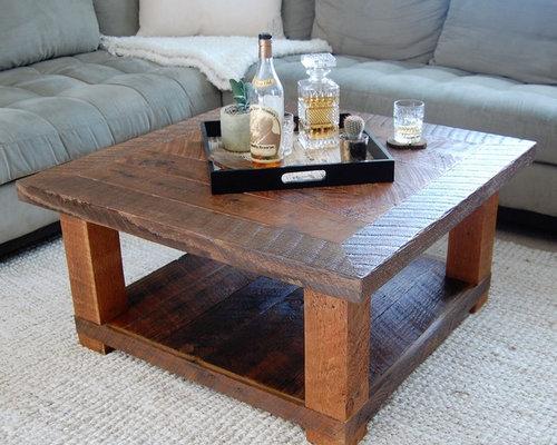 Custom Built Reclaimed Wood Coffee Table   Coffee Tables