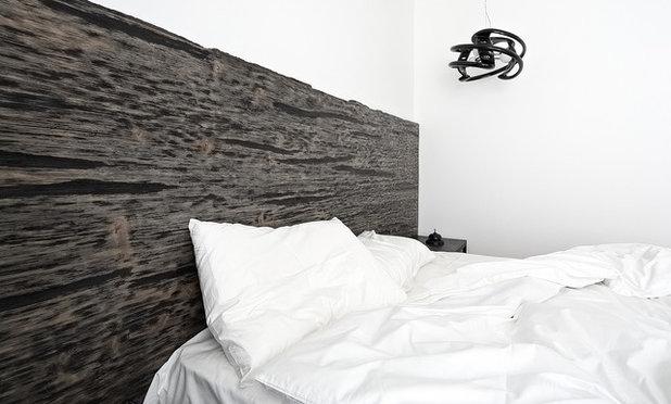 Современный Спальня Квартира «Цифровой код» 80 м. кв.