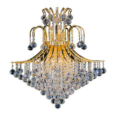 Artistry Lighting, Chandelier 1802C25 Toureg Collection, Gold