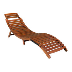 gdfstudio lisbon folding chaise lounge chair outdoor chaise lounges - Lounge Chair Outdoor